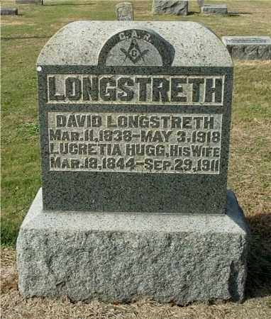 LONGSTRETH, LUCRETIA - Gallia County, Ohio | LUCRETIA LONGSTRETH - Ohio Gravestone Photos