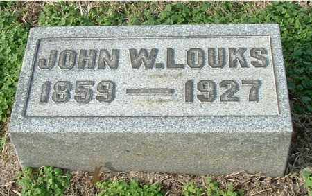 LOUKS, JOHN WESLEY - Gallia County, Ohio | JOHN WESLEY LOUKS - Ohio Gravestone Photos