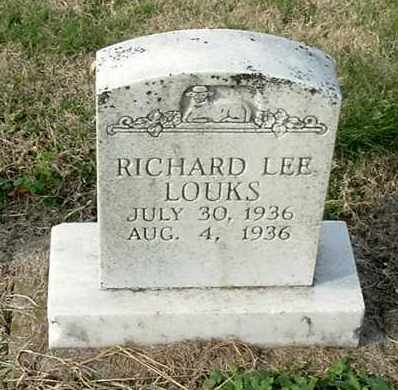 LOUKS, RICHARD LEE - Gallia County, Ohio | RICHARD LEE LOUKS - Ohio Gravestone Photos