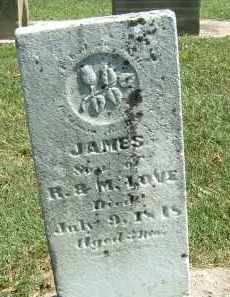 LOVE, JAMES - Gallia County, Ohio | JAMES LOVE - Ohio Gravestone Photos