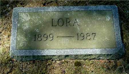 LUELLEN, LORA - Gallia County, Ohio | LORA LUELLEN - Ohio Gravestone Photos