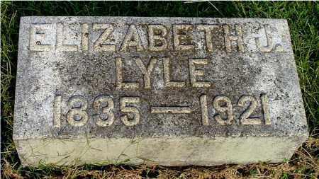 LYLE, ELIZABETH JANE - Gallia County, Ohio | ELIZABETH JANE LYLE - Ohio Gravestone Photos