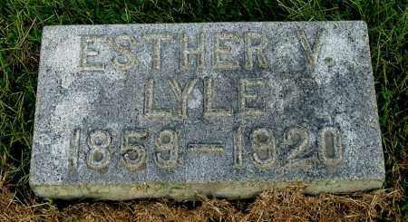 COUGHENOUR LYLE, ESTHER V - Gallia County, Ohio | ESTHER V COUGHENOUR LYLE - Ohio Gravestone Photos