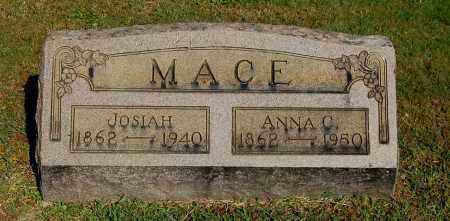 MACE, JOSIAH - Gallia County, Ohio | JOSIAH MACE - Ohio Gravestone Photos