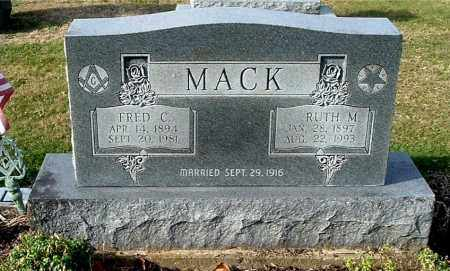 MACK, FRED C - Gallia County, Ohio | FRED C MACK - Ohio Gravestone Photos