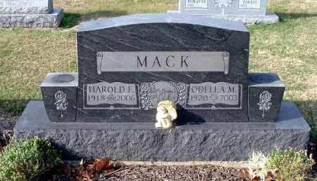 MACK, ODELLA M - Gallia County, Ohio   ODELLA M MACK - Ohio Gravestone Photos