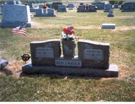 MACOMBER, ARDIS - Gallia County, Ohio | ARDIS MACOMBER - Ohio Gravestone Photos