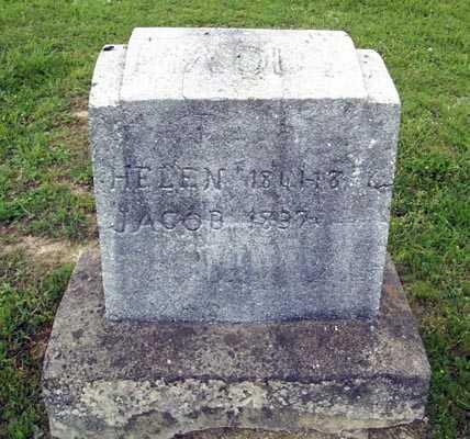 MCDONALD MADDY, HELEN - Gallia County, Ohio | HELEN MCDONALD MADDY - Ohio Gravestone Photos