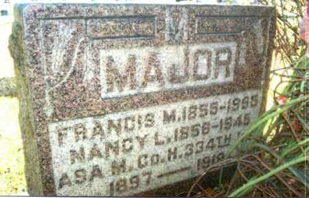 MAJOR, ASA M. - Gallia County, Ohio | ASA M. MAJOR - Ohio Gravestone Photos