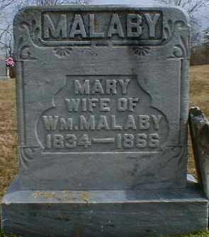 KINCADE MALABY, MARY - Gallia County, Ohio | MARY KINCADE MALABY - Ohio Gravestone Photos