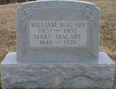 MALABY, WILLIAM - Gallia County, Ohio | WILLIAM MALABY - Ohio Gravestone Photos