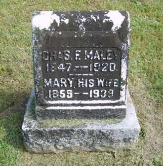 MALEY, CHARLES - Gallia County, Ohio   CHARLES MALEY - Ohio Gravestone Photos
