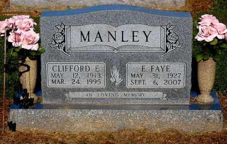 MANLEY, E. FAYE - Gallia County, Ohio | E. FAYE MANLEY - Ohio Gravestone Photos