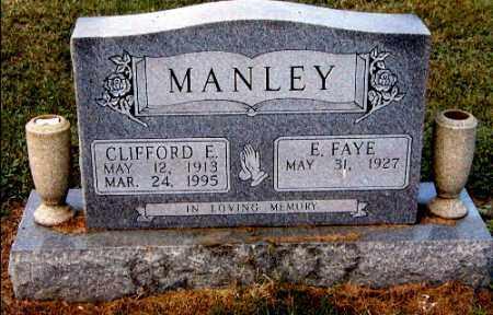 MANLEY, CLIFFORD E. - Gallia County, Ohio | CLIFFORD E. MANLEY - Ohio Gravestone Photos