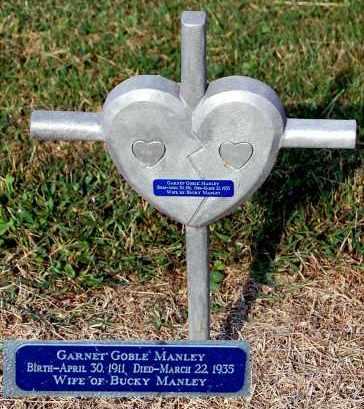 GOBLE MANLEY, GARNET - Gallia County, Ohio | GARNET GOBLE MANLEY - Ohio Gravestone Photos