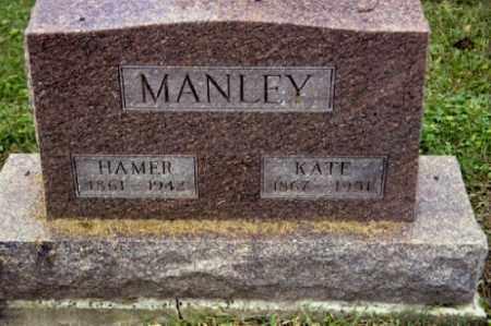 MANLEY, HAMER - Gallia County, Ohio | HAMER MANLEY - Ohio Gravestone Photos