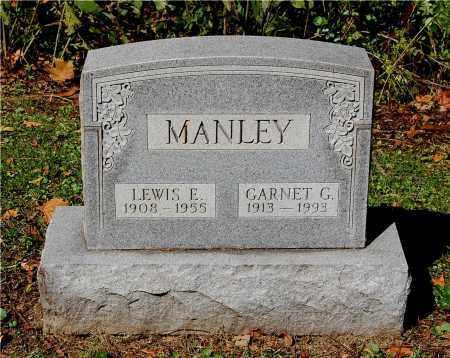 MANLEY, LEWIS E - Gallia County, Ohio | LEWIS E MANLEY - Ohio Gravestone Photos