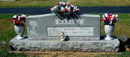MANLEY, DONALD - Gallia County, Ohio | DONALD MANLEY - Ohio Gravestone Photos