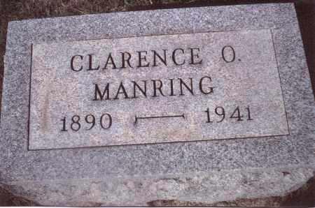 MANRING, CLARENCE O. - Gallia County, Ohio | CLARENCE O. MANRING - Ohio Gravestone Photos