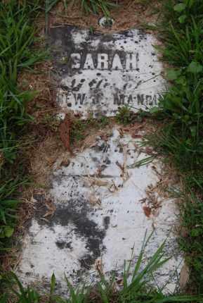 EWING MANRING, SARAH - Gallia County, Ohio | SARAH EWING MANRING - Ohio Gravestone Photos