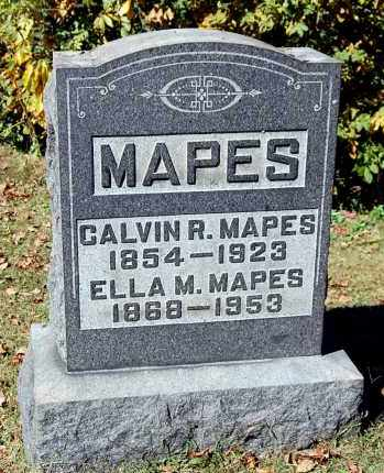 MAPES, ELLA M - Gallia County, Ohio | ELLA M MAPES - Ohio Gravestone Photos