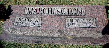 MARCHINGTON, HETTIE S. - Gallia County, Ohio | HETTIE S. MARCHINGTON - Ohio Gravestone Photos