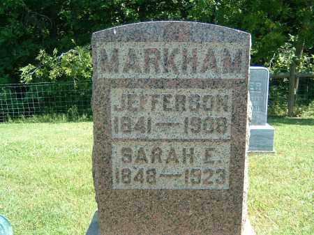 MARKHAM, SARAH E. - Gallia County, Ohio | SARAH E. MARKHAM - Ohio Gravestone Photos