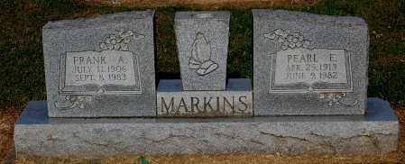 MARKINS, FRANK A - Gallia County, Ohio | FRANK A MARKINS - Ohio Gravestone Photos