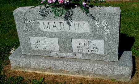 MARTIN, EFFIE M - Gallia County, Ohio | EFFIE M MARTIN - Ohio Gravestone Photos