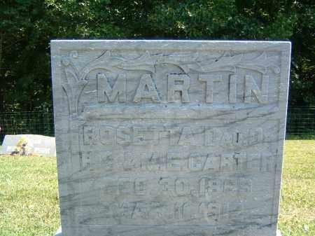 MARTIN, ROSETTA - Gallia County, Ohio   ROSETTA MARTIN - Ohio Gravestone Photos