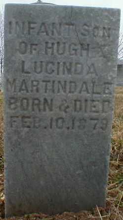 MARTINDALE, INFANT - Gallia County, Ohio | INFANT MARTINDALE - Ohio Gravestone Photos