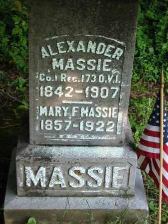 MASSIE, ALEXANDER - Gallia County, Ohio | ALEXANDER MASSIE - Ohio Gravestone Photos