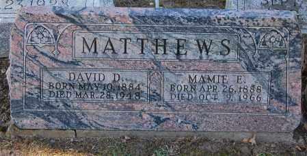 MATTHEWS, DAVID - Gallia County, Ohio   DAVID MATTHEWS - Ohio Gravestone Photos