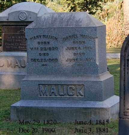 MAUCK, MARY - Gallia County, Ohio | MARY MAUCK - Ohio Gravestone Photos