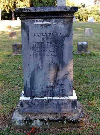 MAUCK, ELIZABETH - Gallia County, Ohio | ELIZABETH MAUCK - Ohio Gravestone Photos