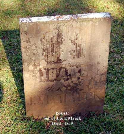 MAUCK, ISAAC - Gallia County, Ohio | ISAAC MAUCK - Ohio Gravestone Photos