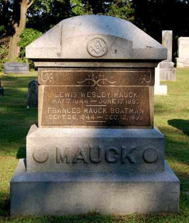 MAUCK, FRANCES - Gallia County, Ohio   FRANCES MAUCK - Ohio Gravestone Photos