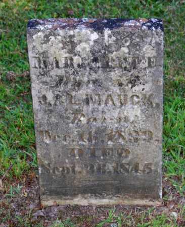 MAUCK, MARGARET E - Gallia County, Ohio | MARGARET E MAUCK - Ohio Gravestone Photos