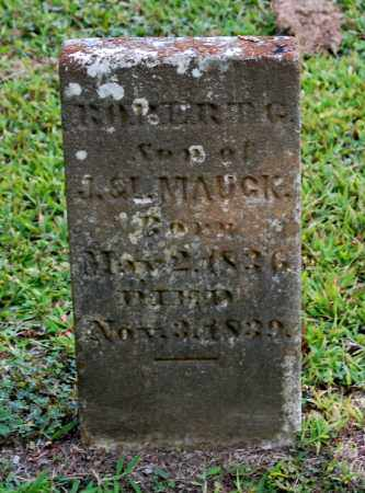 MAUCK, ROBERT G - Gallia County, Ohio   ROBERT G MAUCK - Ohio Gravestone Photos