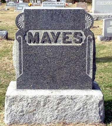 MAYES, CHARLES (HEAD STONE) - Gallia County, Ohio | CHARLES (HEAD STONE) MAYES - Ohio Gravestone Photos