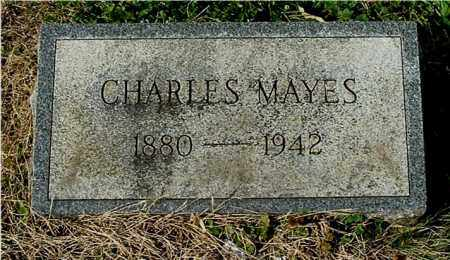 MAYES, CHARLES - Gallia County, Ohio   CHARLES MAYES - Ohio Gravestone Photos