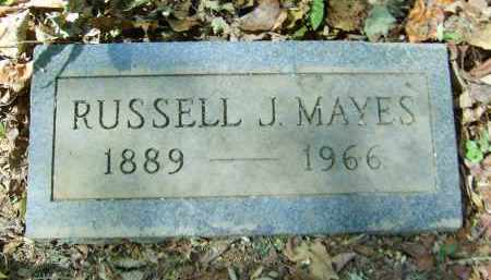 MAYES, RUSSELL - Gallia County, Ohio | RUSSELL MAYES - Ohio Gravestone Photos