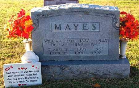 MAYES, CLARENCE E - Gallia County, Ohio | CLARENCE E MAYES - Ohio Gravestone Photos
