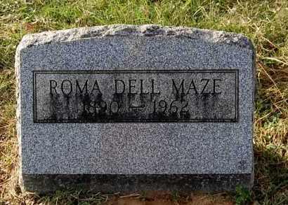 MAZE, ROMA DELL - Gallia County, Ohio | ROMA DELL MAZE - Ohio Gravestone Photos