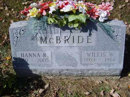 MCBRIDE, WILLIS - Gallia County, Ohio | WILLIS MCBRIDE - Ohio Gravestone Photos