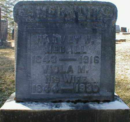 MCCALL, HARVEY - Gallia County, Ohio   HARVEY MCCALL - Ohio Gravestone Photos