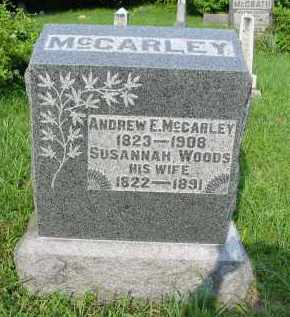 MCCARLEY, SUSANNAH - Gallia County, Ohio | SUSANNAH MCCARLEY - Ohio Gravestone Photos