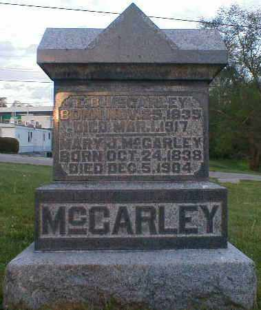 MCCARLEY, E.B. - Gallia County, Ohio | E.B. MCCARLEY - Ohio Gravestone Photos