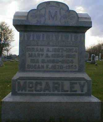MCCARLEY, HIRAM - Gallia County, Ohio | HIRAM MCCARLEY - Ohio Gravestone Photos
