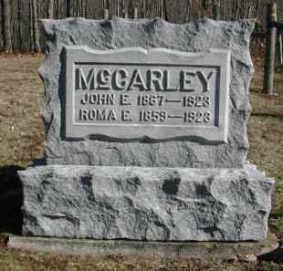 MCCARLEY, JOHN E. - Gallia County, Ohio | JOHN E. MCCARLEY - Ohio Gravestone Photos